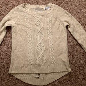 Cream Sweater - Almost New!